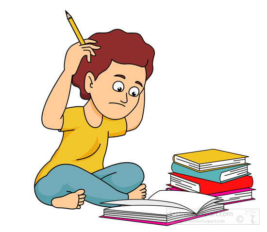 school-student-confused-with-lots-of-homework-classroom-clipart