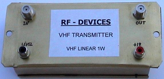 1w Linear Fm Booster By 2n4427