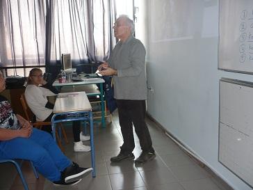 Ενημέρωση από τον εθελοντή κ. Παναγιώτη Τσιρούνη.